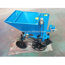 Farm walking tractor potato seeder,1 row potato planter