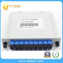 1X8 PLC Splitter Module (type d'insertion)