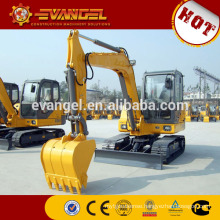8 ton digger XE80 Mini crawler excavator for sale china