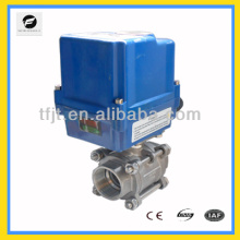 "CTF-010 series actuator 1"" BSP motorized control valve industrial valve for water treatment"