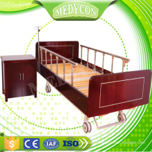Wooden Manual Nursing Home Care Bed With Two Functions