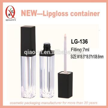LG-136 Kunststoff-Lipgloss-Behälter Kosmetikverpackung