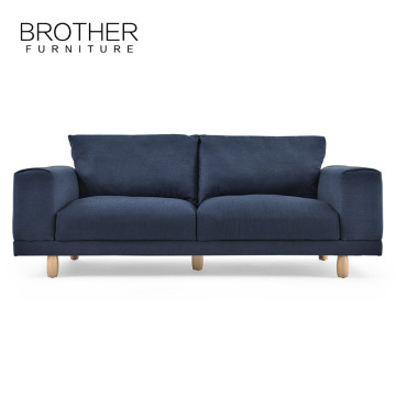 El sofá modelo nuevo azul de la tela del diseño moderno fija el sofá perezoso del muchacho de las imágenes