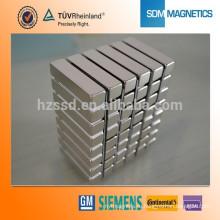 Профессиональный изготовленный на заказ делать постоянный магнит блок магнит dc неодимовый магнит motor