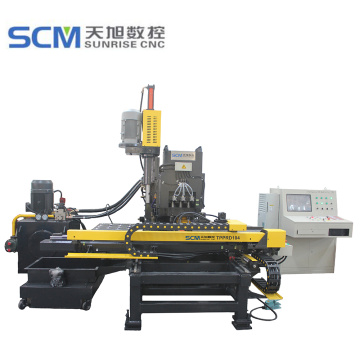 CNC Hydraulic Punching Enhanced Machine for Plates