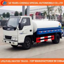 6 Räder Wassertankwagen 4cbm Bewässerungs-LKW zu verkaufen
