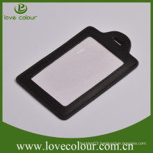 Customized eco-friendly badge holder, leather business card holder