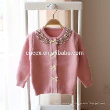 Camisola da menina da caxemira do algodão das crianças P18B16TR