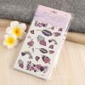 Etiqueta engomada floral temporal auta-adhesivo auto-adhesiva segura segura del tatuaje del cuerpo de la transferencia de agua de la aduana