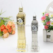 Relógio de cristal de Londres feito de fábrica para casa