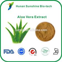 extracto de aloe vera de ancho usado en productos para el cuidado de la piel