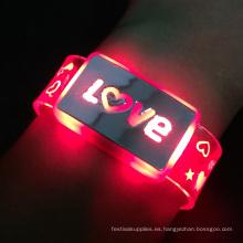 bandas de flash iluminar pulsera