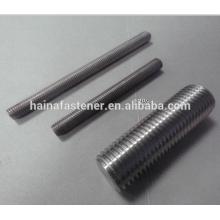 Haste de rosca em aço inoxidável Duplex UNS32205 / S31803