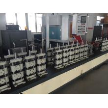 Línea de producción de tubos de barra espaciadora de aluminio