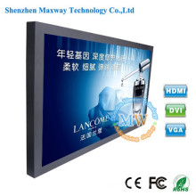 46 inch higher brightness 1500 cd/m2 TFT LCD monitors screens with HDMI VGA input
