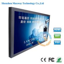 46 polegadas maior brilho 1500 cd/m2 TFT LCD monitores de telas com entrada HDMI VGA