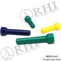 tampas de plástico para parafusos tampa do parafuso de plástico protetores de rosca de plástico