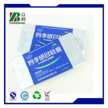 Heat Seal Clear Customized Plastic Medical Infusion Packaging Bag