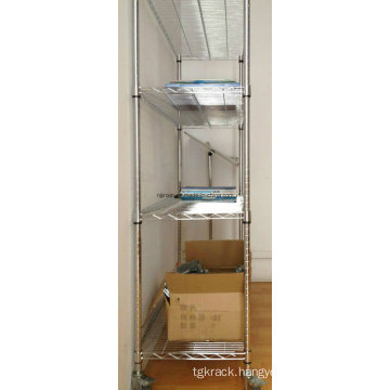 Movable Wire Shelving with High Quality