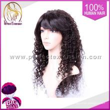 Peluca peruana recta rizada U de la peluca del pelo U de 2015 productos superventas