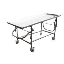 Mesa de embalsamamiento ajustable de acero inoxidable (THR-106)