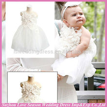 LSBB2001 OEM Accepted Top Quality Factory Price beautiful children new model birthday pictures baby 1 year old party dress