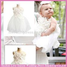 LSBB2001 OEM Aceptado de alta qualidade de fábrica Preço lindo crianças novo modelo de aniversário fotos bebê vestido de festa de 1 ano de idade