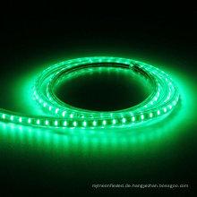 Im Freienhauptdekoration 5m 5050 imprägniern Sie RGB IP65 LED 220V 60LEDs / M flexibler geführter Streifen