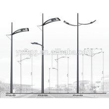 Hot Dip Galvanized outdoor garden lighting pole
