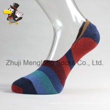 Men Low Cut Cotton Socks Invible Socks with Gripper in The Heel