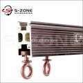 GD49 aluminium shower bending high quality curtain rail