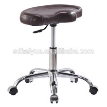 China fez alta qualidade comercial brown pu cadeira de barbeiro