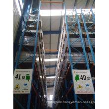Heavy Duty Storage Shelving Stacking Racks Shelves Narrow Aisle Pallet Racking Vna System