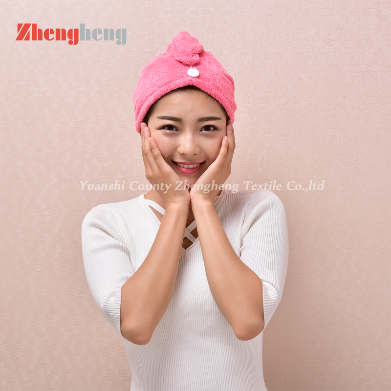 Coral Fleece Hair Cap (12)