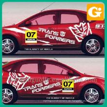 Werbung Auto Aufkleber