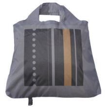 Reusable Polyester Foldable Bags, Recycled Printing Folding Bag For Shopping