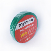 competitive price ,green, pvc insulation tape PVC adhesive tape16mm*17m*0.18mm
