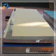 3104 alta hoja de aluminio reflectante