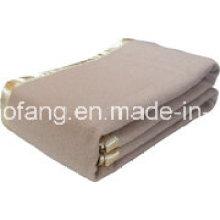 Cobertor 100% acrílico tecido do hotel de lã