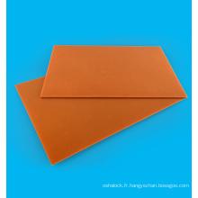 Planche en bakélite de qualité A de 20 mm