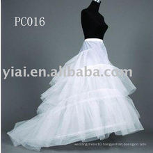 Chapel Train Bridal Dress Petticoat PC016