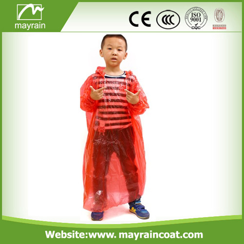 PE Raincoat for Children