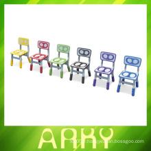 2016 NOUVEAU Design Sell Kids Colors Plastic Chairs