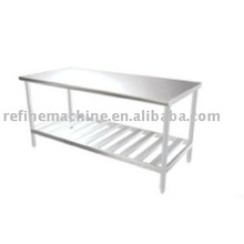 SUS 304 Stainless steel working table/Assemble type working table