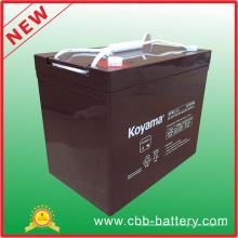 Bateria da bateria 12V Power Backup12V85ah UPS da fonte 12V