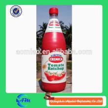 Ketchup inflable del tomate de la publicidad para la venta