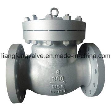 Válvula de retenção de balanço Aço inoxidável