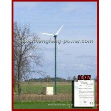 vento 20KW gerador de energia, melhor modelo de venda