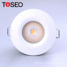 BS 476 fire proof cob lighting fixture 10W IP65 recessed fireproof led cob down light