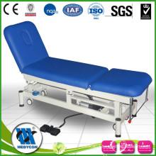 PU surface soft sponge mattress electric examination bed